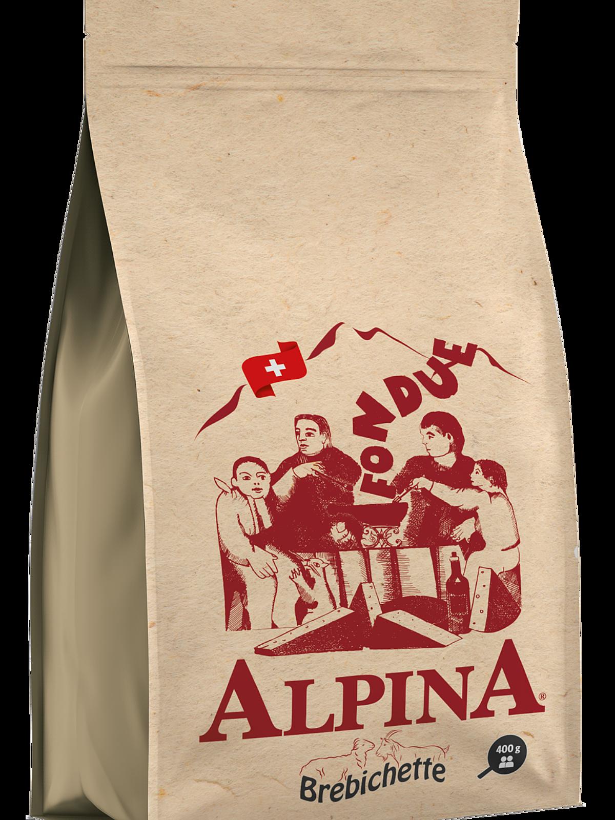 Fondue Alpina® Brebichette